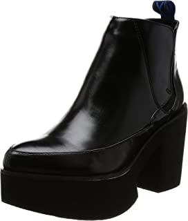 [YOSUKE] 厚底橡筋短靴 厚底橡筋短靴 女士 2600813