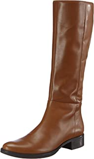 Geox 女士 D MELDI P 高筒马靴