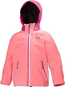 Helly Hansen Kid's Spring Rain Jacket  Light Ocean 1