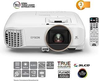 Epson 爱普生 EH-TW5650 3LCD - 投影机(全 HD,2500流明,60000: 1对比度,3D)