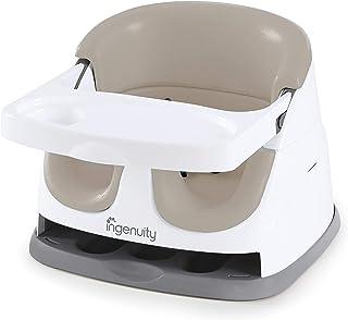 Ingenuity,2合1婴儿座椅 - 用于喂养和玩耍,带可拆卸托盘 米色