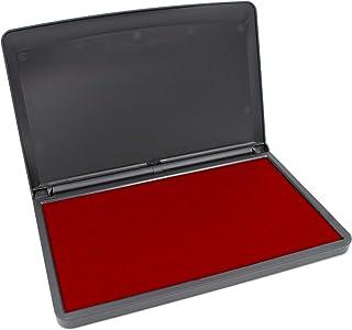 MaxMark 大号优质印章 - 8.89 cm x 15.24 cm - 优质毛毡垫 CRIMSON RED