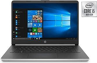 "Newest HP 14"" HD Premium Business Laptop PC   10th Gen Intel Quad-Core i5-1035G1 up to 3.6GHz   8GB RAM   256GB SSD   WiFi   HDMI   Card Reader   Bluetooth   Windows 10   Silver"