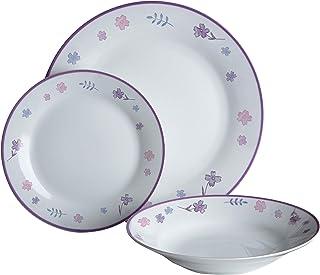 Premier Housewares 0722925 12 件精致晚餐套装,陶瓷