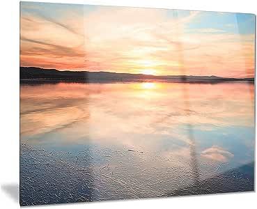 澳大利亚海景照片金属壁挂艺术 - MT8402 28x12 MT8402-28-12