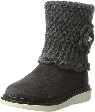 Geox 健乐士 女童 J Thymar Girl F 靴子 Grau (Dk Grey) 28 EU