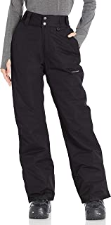 "Arctix Women's 29"" Inseam Short Insulated Snow Pant, X-Small, Black"