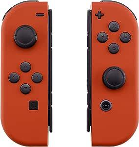 eXtremeRate 背板,适用于任天堂切换控制台,NS Joycon 手持控制器外壳,带全设置按钮,DIY 替换外壳,适用于 Nintendo SwitchCP314  Joycon Shell and Buttons
