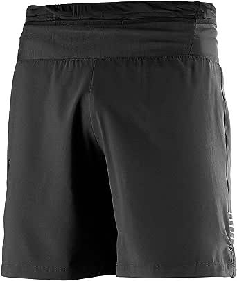 SALOMON 男式脉冲7英寸短裤 黑色 XX-Large