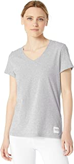 Calvin Klein Performance 女士标志补丁 V 领 T 恤