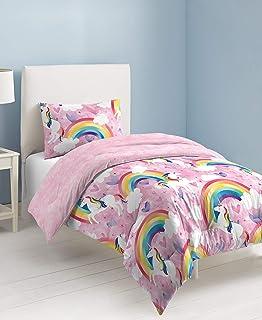 dream FACTORY 柔软毛绒身体枕,2A8608ABPK-P 粉红色 两个 2A8608C1PK