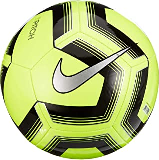 Nike Unisex's NK PTCH TRAIN-SP19 Soccer Ball, Volt/Black/Silver, 3