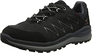 Mephisto 男式 Rake Off-tex 交叉运动鞋 Black (Black Core Suede 1/Nubuk 1) 6.5 UK