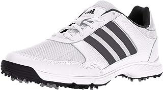 adidas 男式 TECH response ftwwht / dksi 高尔夫球鞋