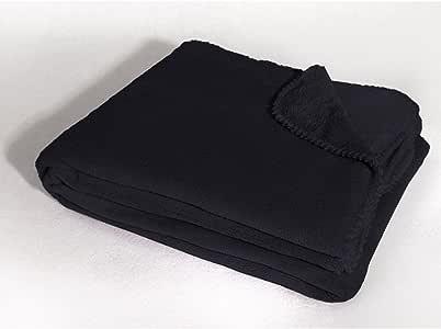 Douceur D'Intérieur - 1604280,扶手椅,125 X 150 厘米,莲花,珊瑚纯色,黑色