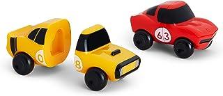 磁铁汽车混合搭配汽车洗澡玩具 Red/yellow Red/Yellow