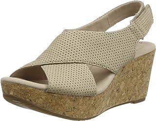 Clarks 其乐 Annadel Parker 女士坡跟凉鞋
