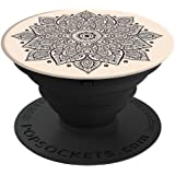 PopSockets Stand for Smartphones and Tablets - Retail Packaging - Pakwan Sunset Ocean 珊瑚红