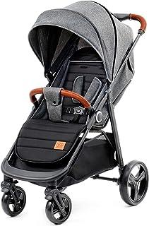 Kinderkraft Grande 大型婴儿车 婴儿车 可折叠 灰色