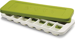 Joseph Joseph Quicksnap Plus 带盖冰块模具,白/绿色