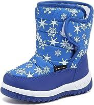 DESTURE 儿童雪地靴,男孩女孩冬靴,防水雪地靴,冬天户外靴(幼儿/小童/大童)