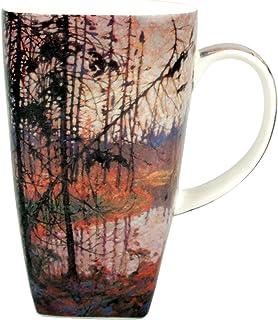 Tom Thomson 北河大杯咖啡杯,配以盒子包装,含 1 包 6 个茶袋