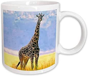 3dRose Giraffe Mug, 11-Ounce