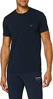 Emporio Armani 安普里奥·阿玛尼 男士高级性感标志带 T 恤