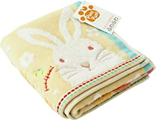UCHINO 内野面巾 橙色 兔子 约34×75cm 足够 9006F704 OR