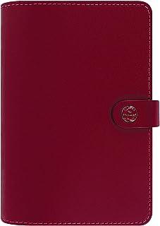 filofax 斐來仕 022380 the original personal A6 大紅色 活頁多功能記事本 手賬手冊 2017年日程本
