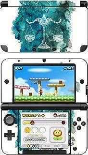 Disagu SF-104164_1247 屏幕保护膜适用于 Nintendo 3DS XL 设计 - 星座图案 - 天秤清晰