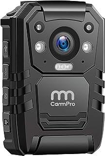 CammPro 1296P高清警用車身攝像頭 64G內存 防水2英寸顯示屏的車身磨損攝像頭