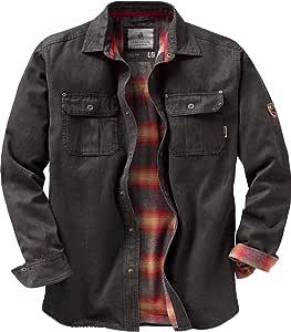 Legendary Whitetails 男式 Journeyman 法兰绒内衬结实衬衫夹克