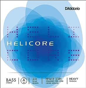 D'Addario 达达里奥 Helicore Hybrid 高张力 3/4 低音提琴 A 弦单弦(HH613 3/4H)