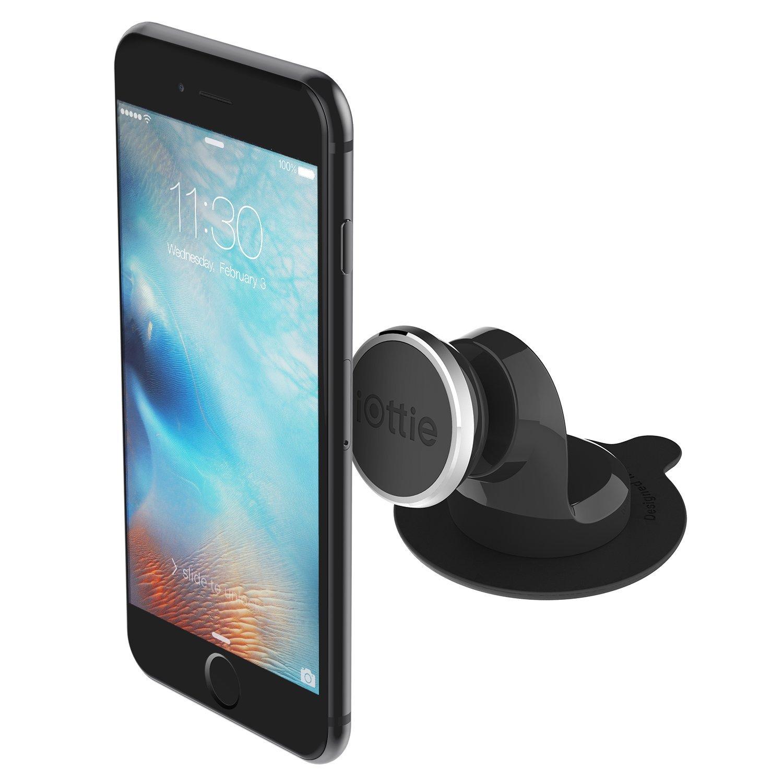iOttie iAUDIOのアイタップ・磁気車のダッシュボードAppleのiPhone X 8 7プラス6SサムスンギャラクシーS8 S9注グーグルピクセルXL LGのV30携帯電話のための調節可能なブラケットを回転高度な電話ホルダーは、iPhone 7 7Sプラス6Sに適しているプラスSE、サムスンゲイロード世界S8エッジS7 S6注5 6S