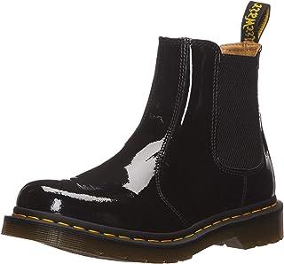 Martens 马丁 切尔西靴 2976 PATENT 侧边橡胶