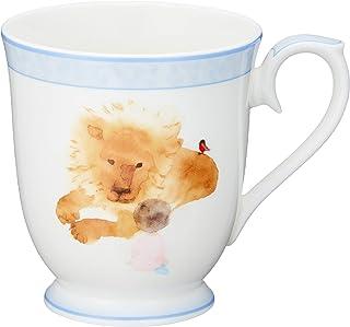 NARUMI 鸣海 岩崎知弘 马克杯 找到的狮子和女孩 51903-2635