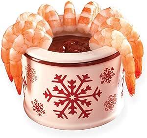 陶瓷雪花浸渍或冰淇淋冷冻机,2 件 雪花