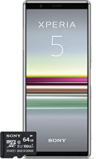 Sony 索尼 Xperia 5 Bundle 手机 1320-4790 mit SD-Karte 灰色