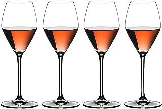 Riedel 极限水晶玻璃,4件套 - 购买 3 只 4 只眼镜 透明 Champagne/Rose 441155