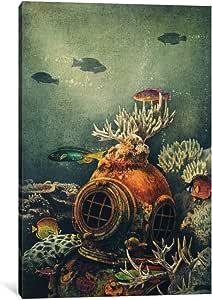 "iCanvasART 1 Piece Seachange Canvas Print by Terry Fan, 40"" x 26""/0.75"" Depth"