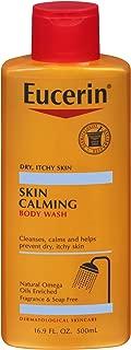 EUCERIN skin 舒緩沐浴露16.9盎司液體