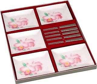 彩光舍 七宝烧 中角 青蛙品牌铭牌 5PC套装 带拨片 017-01