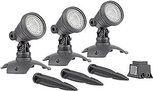 绿洲水下照明 LunAqua,3 个LED套装 3