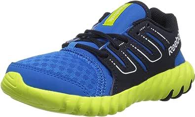 Reebok Twistform 跑鞋(小童/大童) Cycle Blue/Faux Indigo/Semi Solar Yellow 11 M US 儿童