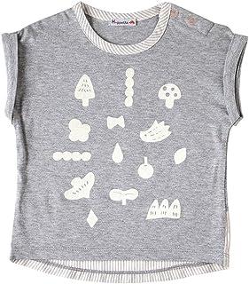 Hoppetta 印花T恤 [対象] 6ヶ月 ~ 12ヶ月 灰色 70