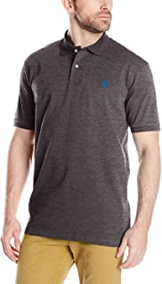 Men's Solid Interlock Short Sleeve Polo Shirt