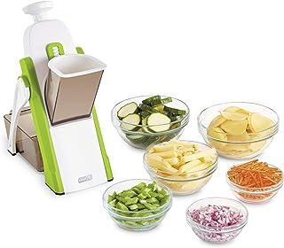 DASH 切片器 便于准备食物,30 种不同的预设切割带有厚度调节器 绿色