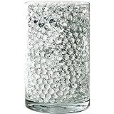 SooperBeads 20,000 花瓶填充珠宝石水生长水晶透明透明凝胶珍珠,适用于花瓶、婚礼中心装饰、花朵装饰、植物、儿童感官游戏水桌活动 透明 CL-250G