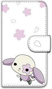 多格盒手机壳印花翻盖樱花兔子手机保护壳翻盖式适用于所有机型  さくらうさC 8_ ZenFone 3 ZE552KL